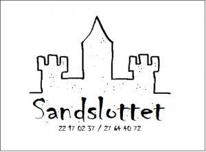 Sandslottet logo2 med håndfri